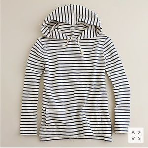 J crew Maritime Striped Hoody!